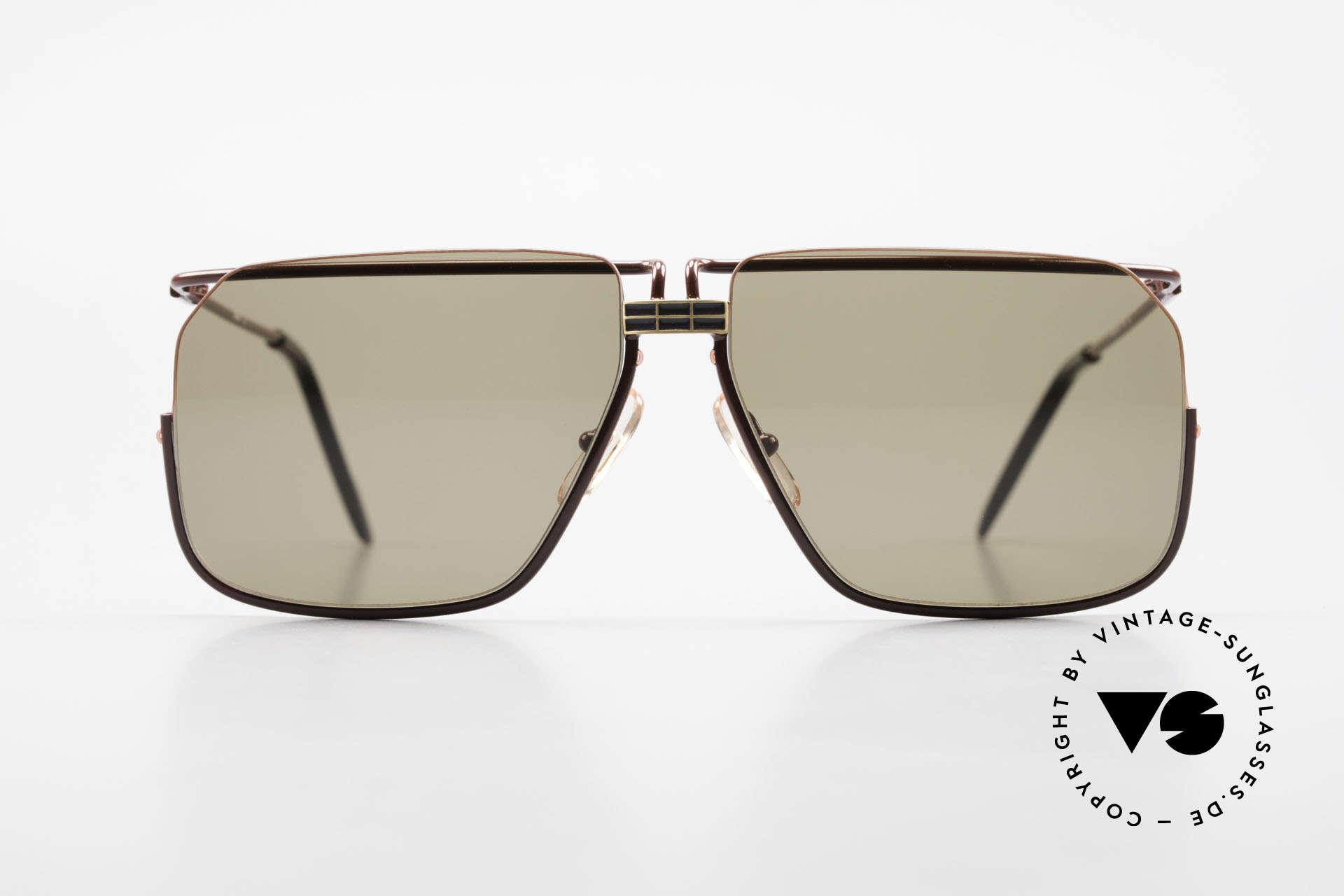 Ferrari F18/S Ferrari Formula 1 Sunglasses, very interesting frame construction (half rimless design), Made for Men
