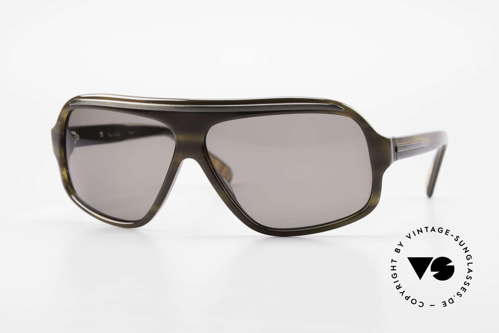 Paul Smith PS382 Vintage Men's Sunglasses 90's, old Paul Smith vintage sunglasses from the early 1990's, Made for Men