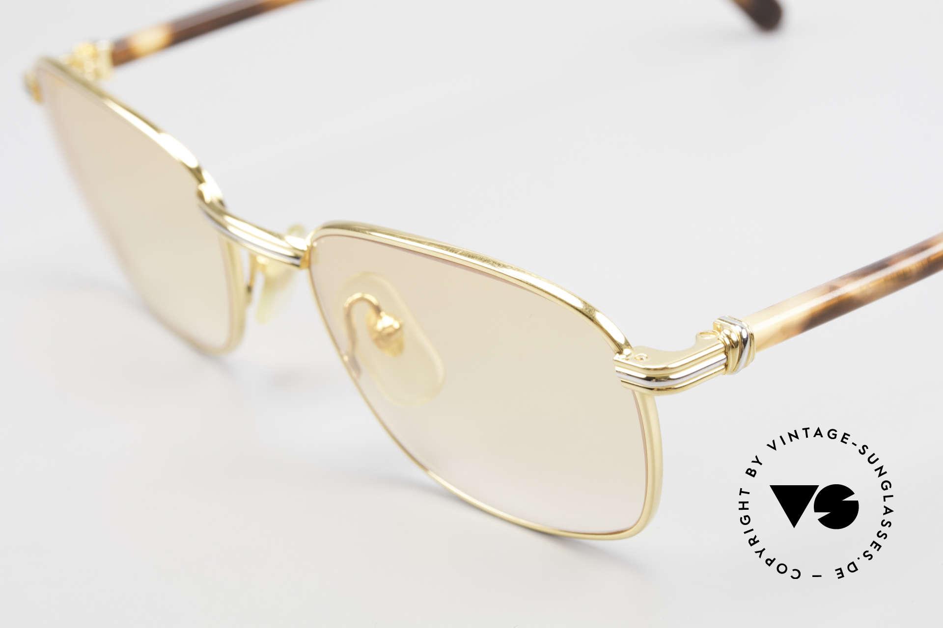 Cartier Aube Orange Gradient Luxury Shades, new orange-gradient lenses (also wearable at twilight), Made for Men