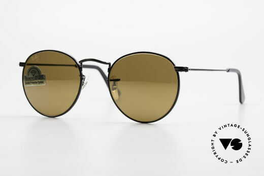 Ray Ban Round Metal 47 Small Round Diamond Hard Details