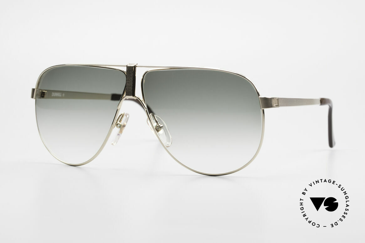 Dunhill 6043 Gold Plated Men's Sunglasses, incredibly beautiful Dunhill aviator sunglasses, Made for Men