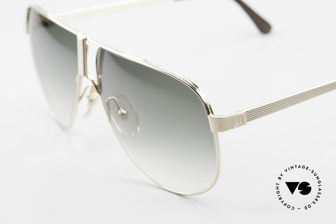 Dunhill 6043 Gold Plated Men's Sunglasses, GOLD-PLATED metal frame in LARGE size 62/10, Made for Men