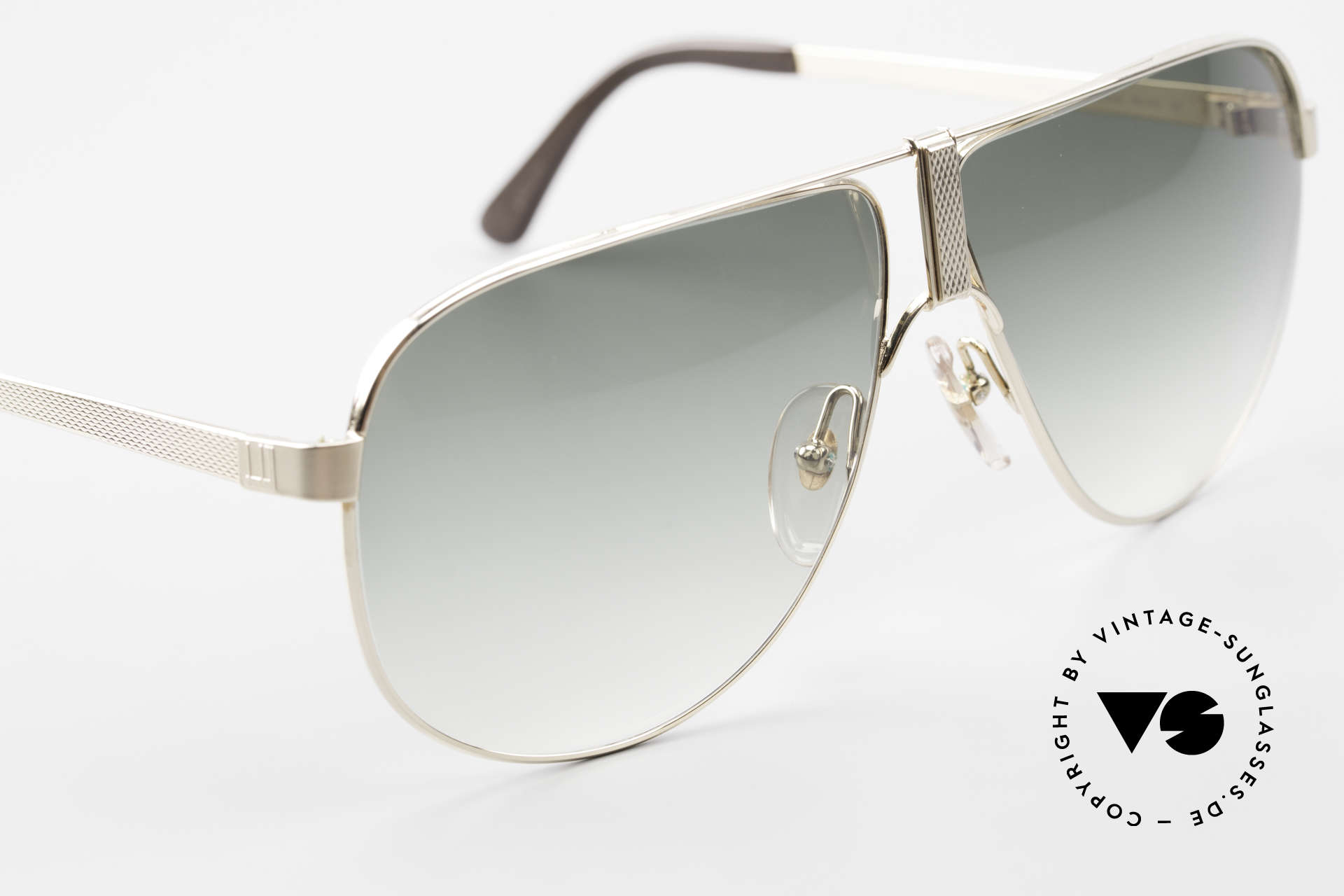 Dunhill 6043 Gold Plated Men's Sunglasses, impossible to get such a craftsmanship, today, Made for Men
