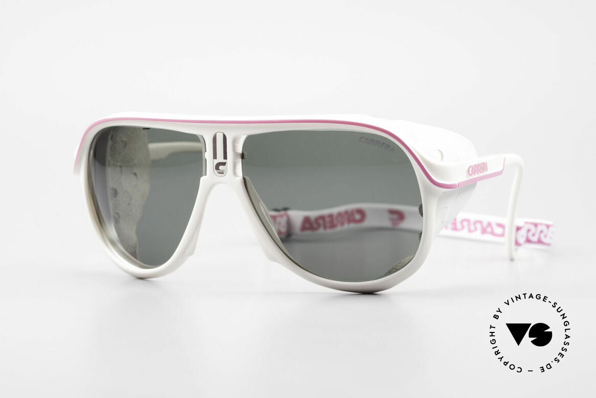 Carrera 5544 Sports Glacier Sunglasses 90's, vintage Carrera sports and glacier sunglasses from 1990, Made for Men and Women