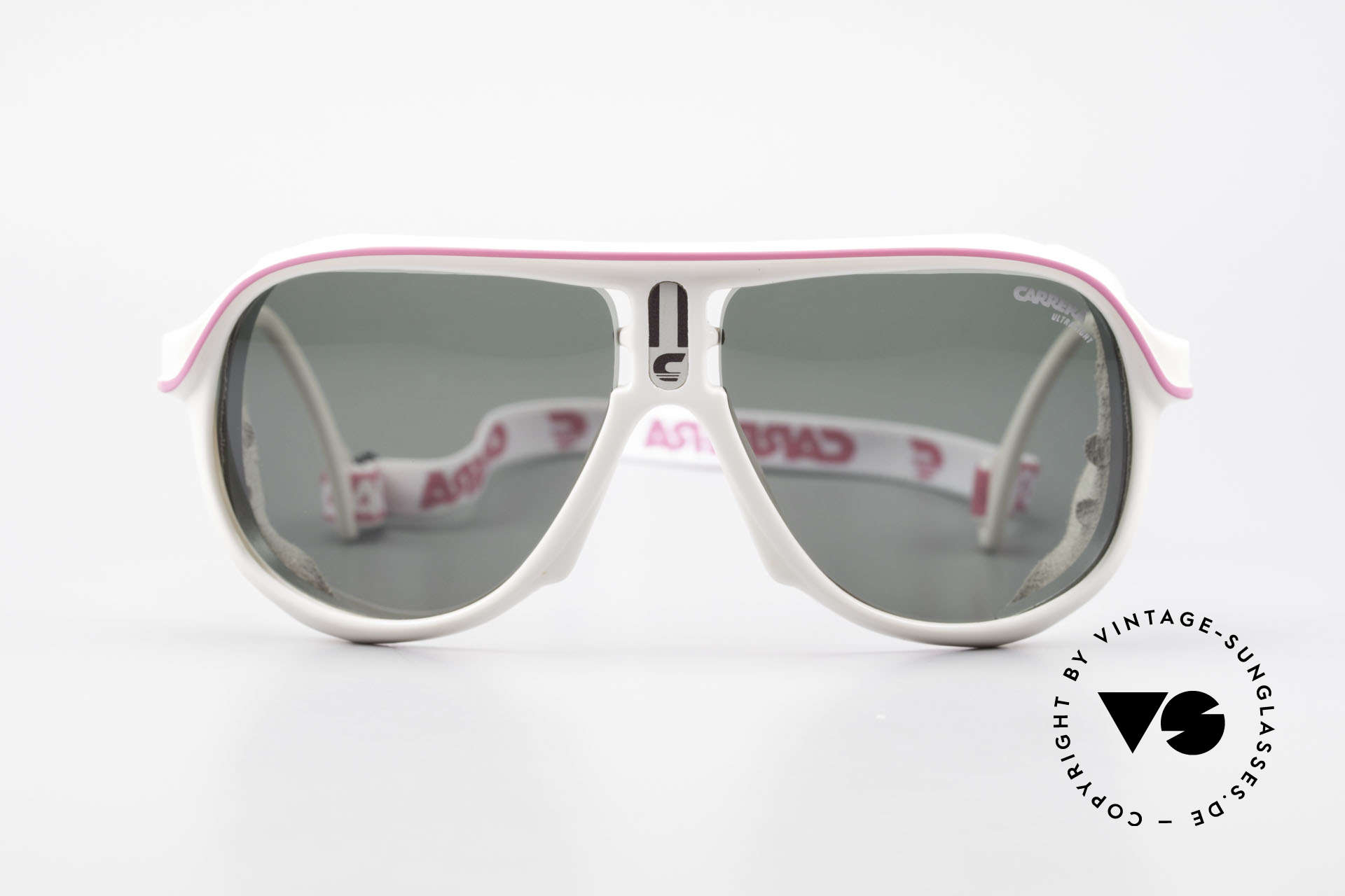 Carrera 5544 Sports Glacier Sunglasses 90's, perfect fit and high wearing comfort (with elastic strap), Made for Men and Women