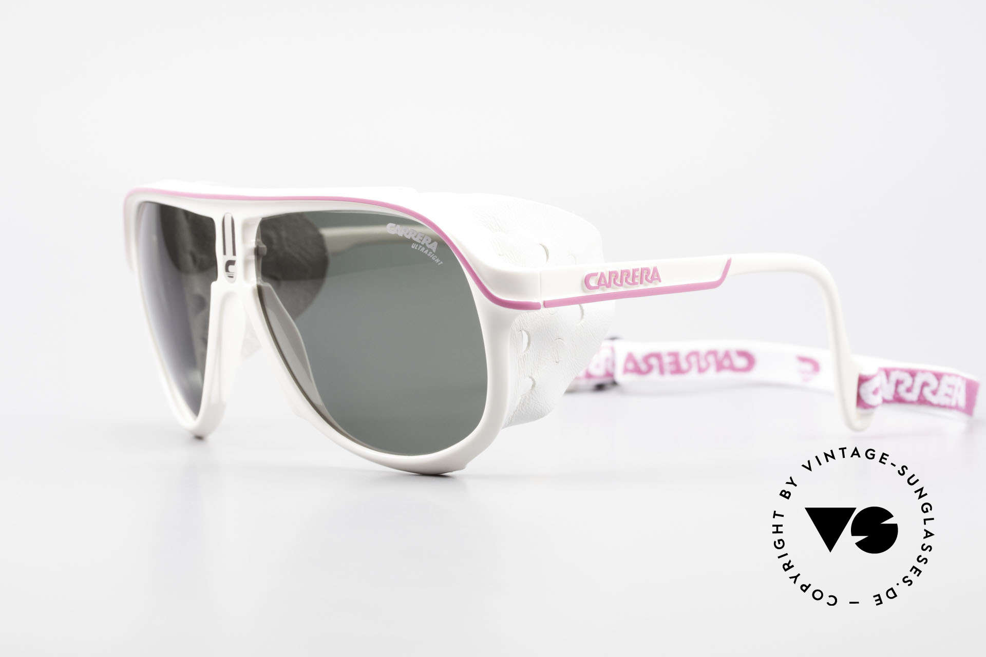 Carrera 5544 Sports Glacier Sunglasses 90's, Carrera Ultrasight lenses for extreme weather-conditions, Made for Men and Women