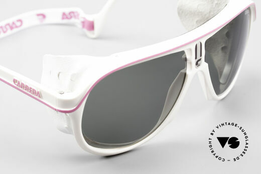 Carrera 5544 Sports Glacier Sunglasses 90's, unworn, NOS (like all our vintage Carrera sports shades), Made for Men and Women