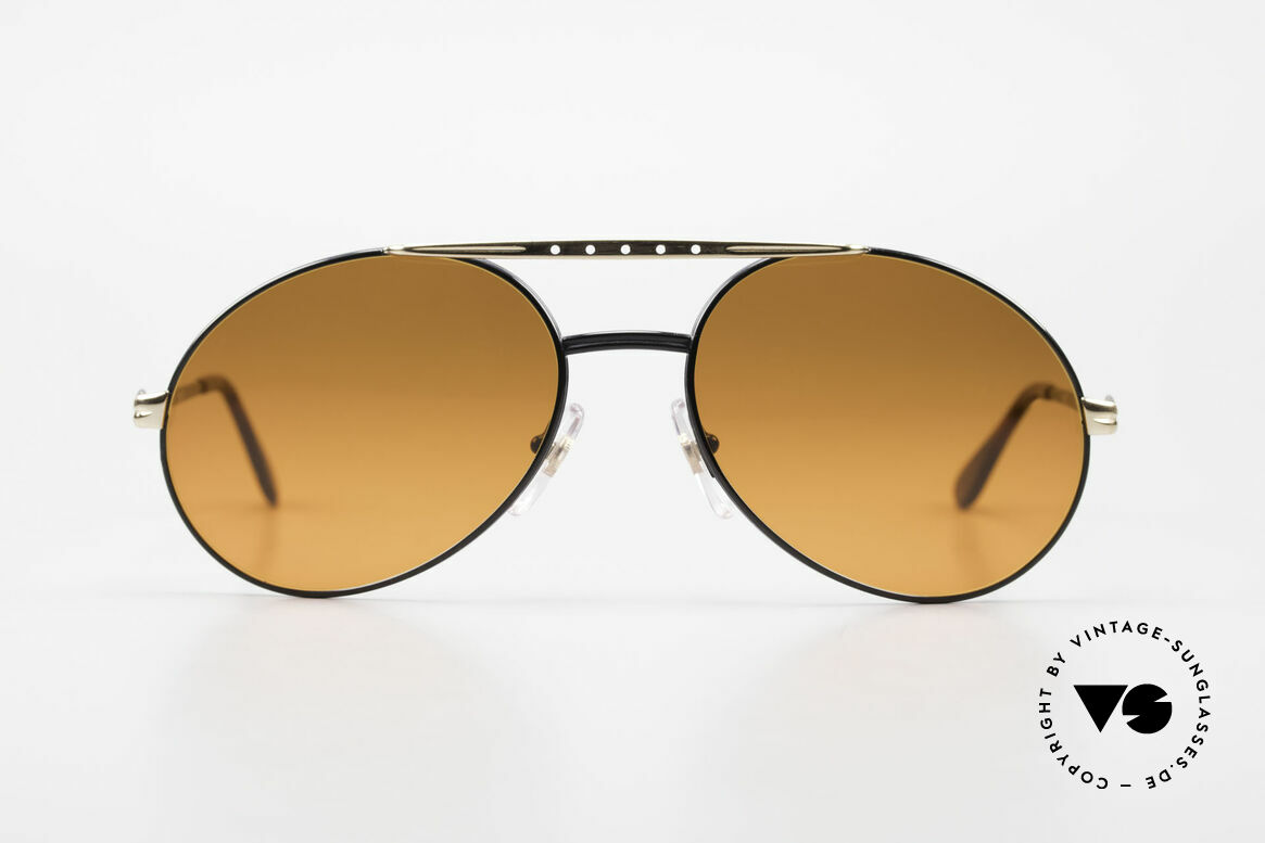 Bugatti 02927 Sunset Sun Lenses 80's Rarity, made around 1985 in France (1st class spring hinges), Made for Men