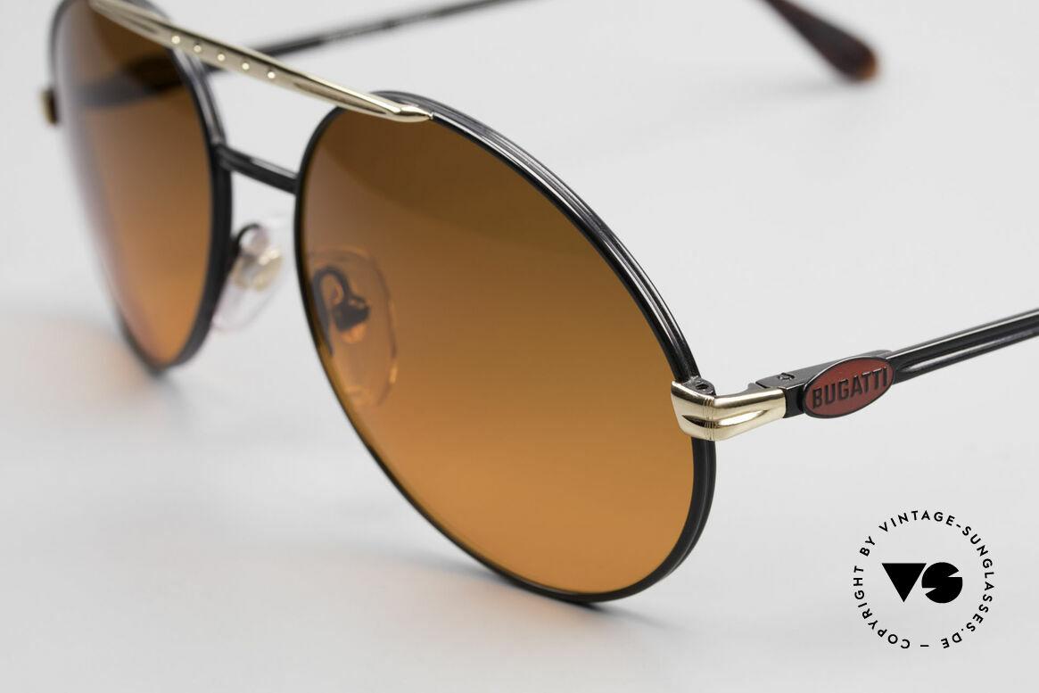 Bugatti 02927 Sunset Sun Lenses 80's Rarity, unworn, incl. case (like all our vintage Bugatti shades), Made for Men