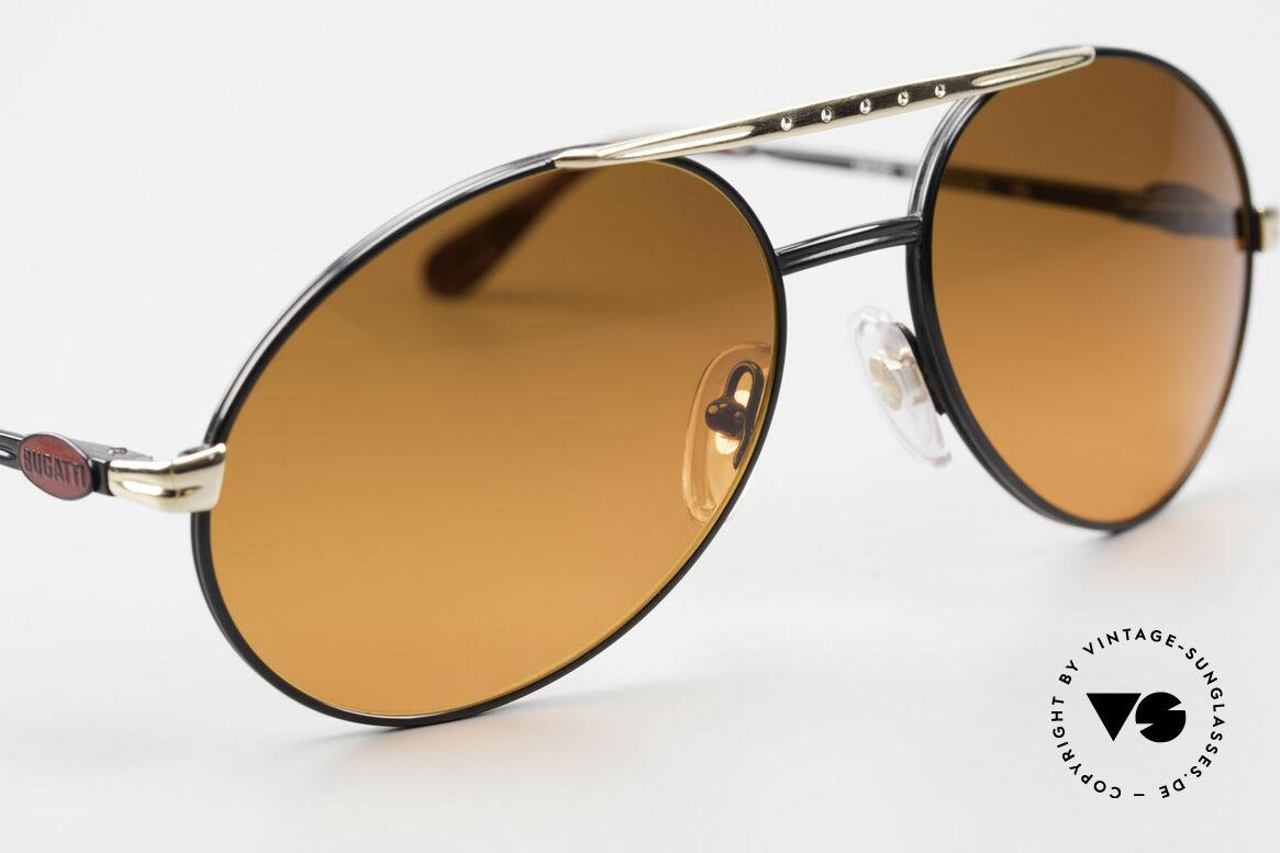 Bugatti 02927 Sunset Sun Lenses 80's Rarity, NO retro sunglasses, but a precious old 80's ORIGINAL, Made for Men