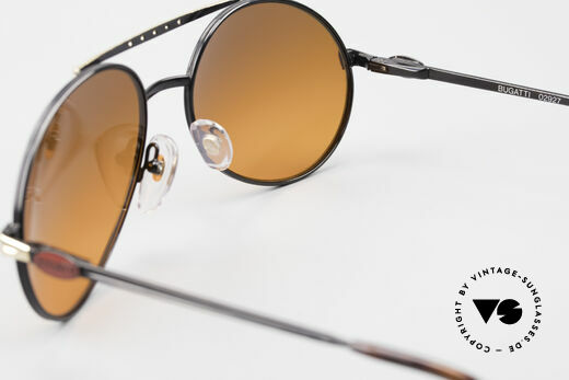 Bugatti 02927 Sunset Sun Lenses 80's Rarity, SUNSET sun lenses can be replaced with prescriptions, Made for Men