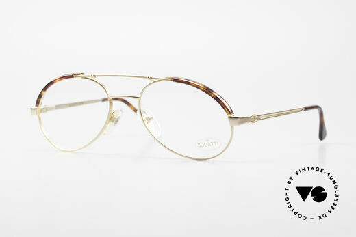Bugatti 03081 90's Men's Glasses True Vintage Details
