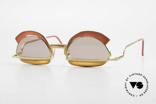 Casanova Arché 5 Limited 80's Art Sunglasses Details