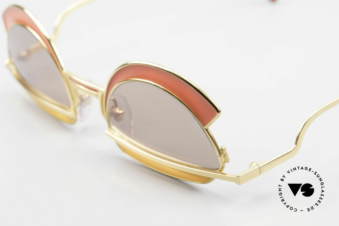 Casanova Arché 5 Limited 80's Art Sunglasses, limited edition (34/300) - only 300 models, worldwide, Made for Women