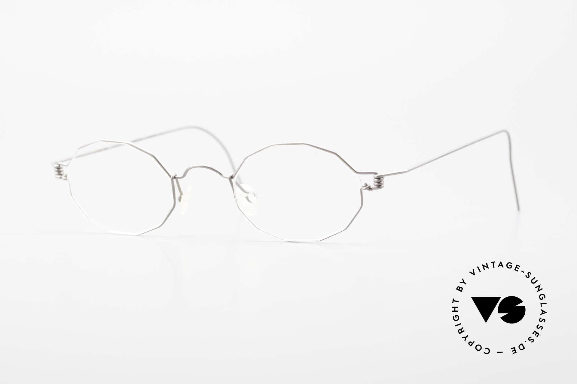 Lindberg Zeta Air Titan Rim Titanium Frame Small Unisex, LINDBERG Air Titanium Rim glasses, small size 40-21, Made for Men and Women