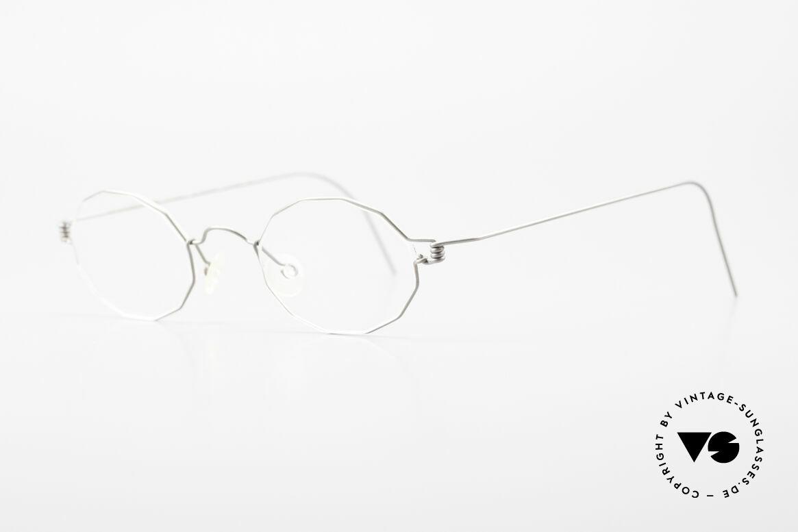 Lindberg Zeta Air Titan Rim Titanium Frame Small Unisex, simply timeless, stylish & innovative: grade 'vintage', Made for Men and Women