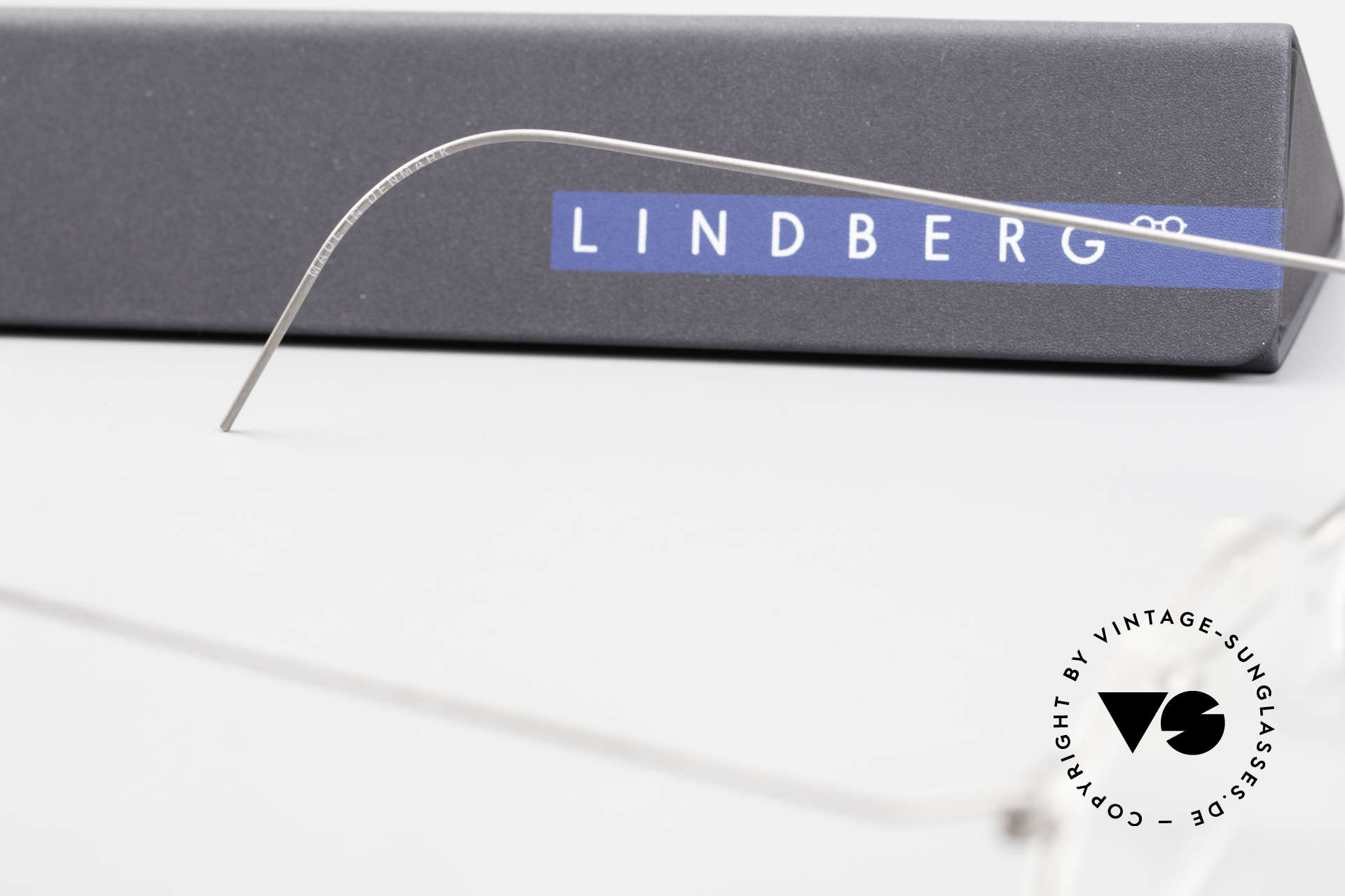 Lindberg Zeta Air Titan Rim Titanium Frame Small Unisex, Size: small, Made for Men and Women