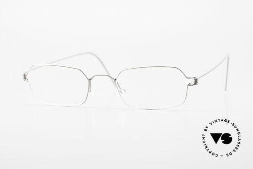 Lindberg Neptun Air Titan Rim Titanium Eyeglass-Frame Men Details