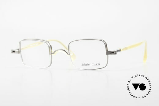 Alain Mikli 0115 / 01 Hinged Lenses 2 in 1 Glasses Details