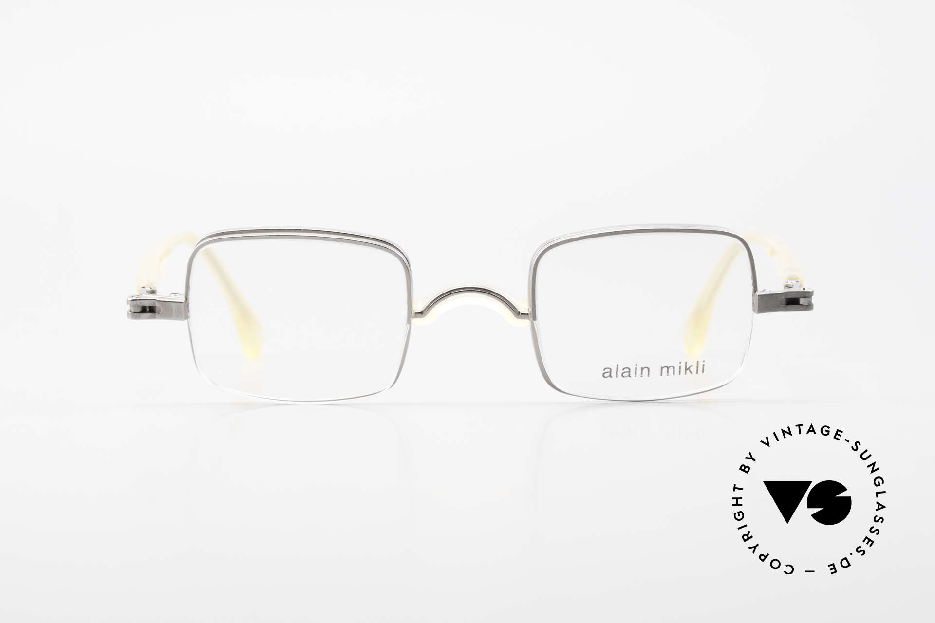 Alain Mikli 0115 / 01 Hinged Lenses 2 in 1 Glasses, hinged frame for two kinds of prescription lenses, Made for Men and Women