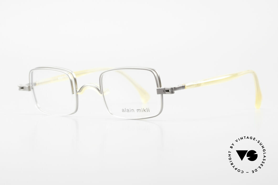 Alain Mikli 0115 / 01 Hinged Lenses 2 in 1 Glasses, great idea, brilliant made (in TOP-notch quality), Made for Men and Women