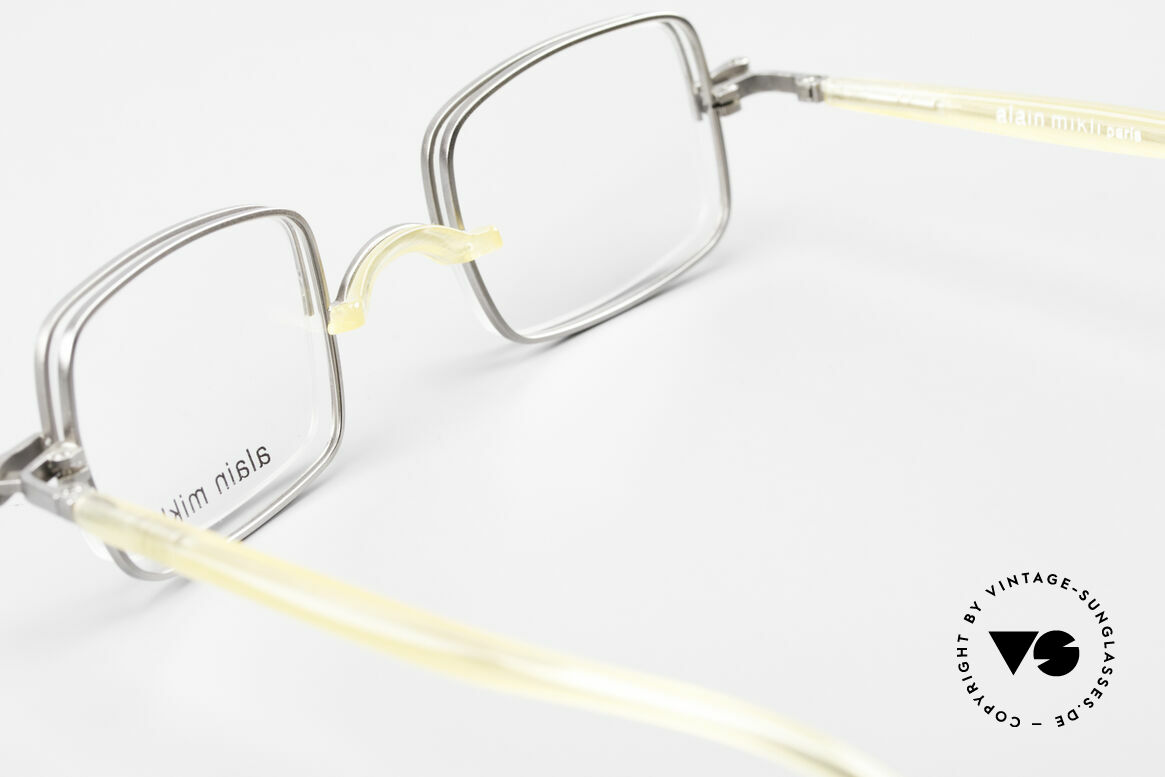 Alain Mikli 0115 / 01 Hinged Lenses 2 in 1 Glasses, Size: small, Made for Men and Women