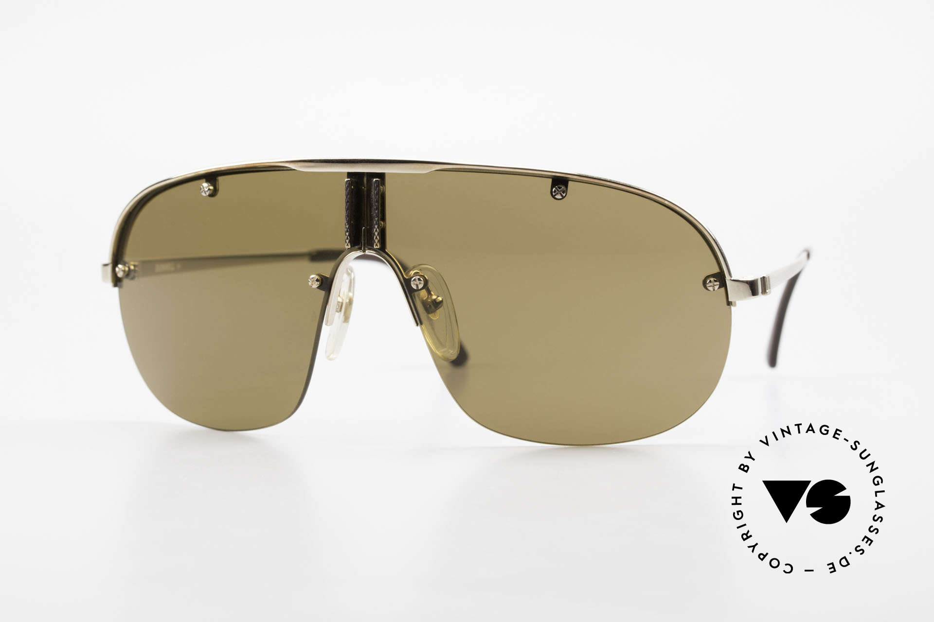 Dunhill 6102 90's Gentlemen's Sunglasses, stylish men's sunglasses by Alfred Dunhill from 1990, Made for Men