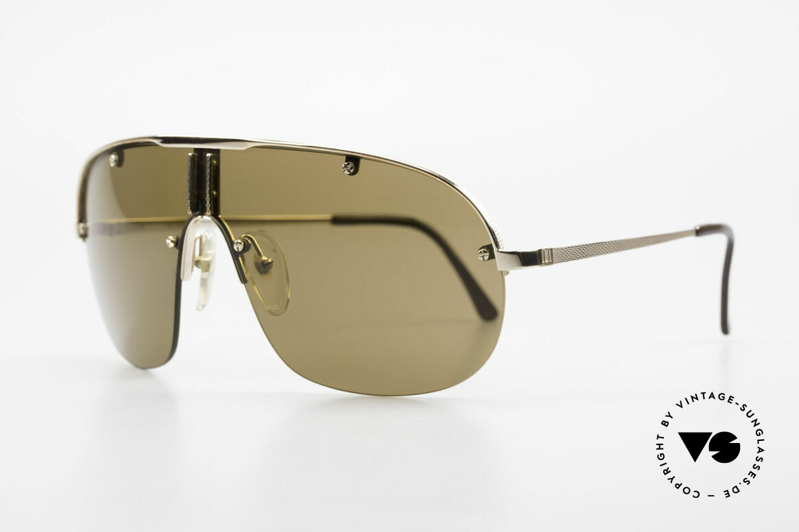 Dunhill 6102 90's Gentlemen's Sunglasses, ingenious flexible frame for optimal fitting properties, Made for Men