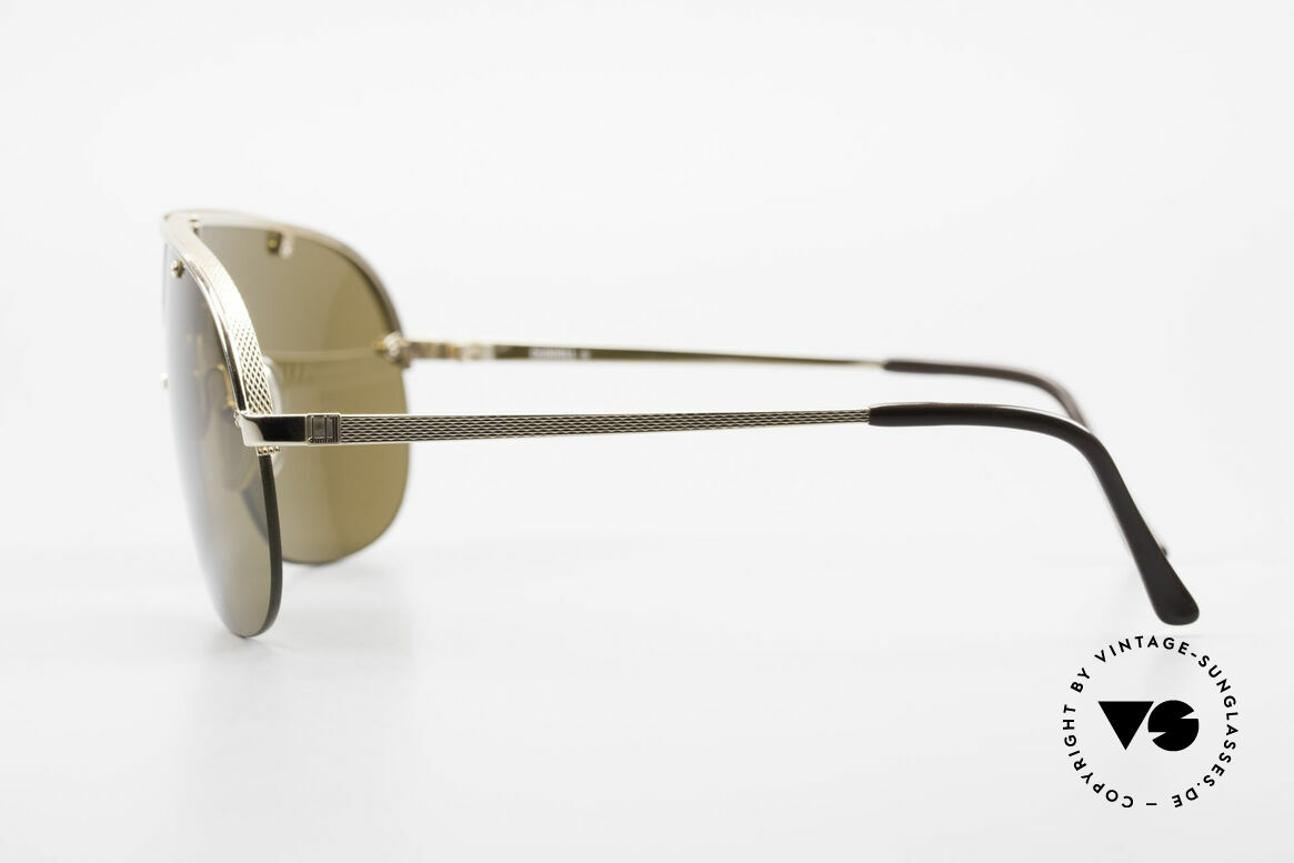 Dunhill 6102 90's Gentlemen's Sunglasses, top-notch materials & crafting (hardgold-plated frame), Made for Men
