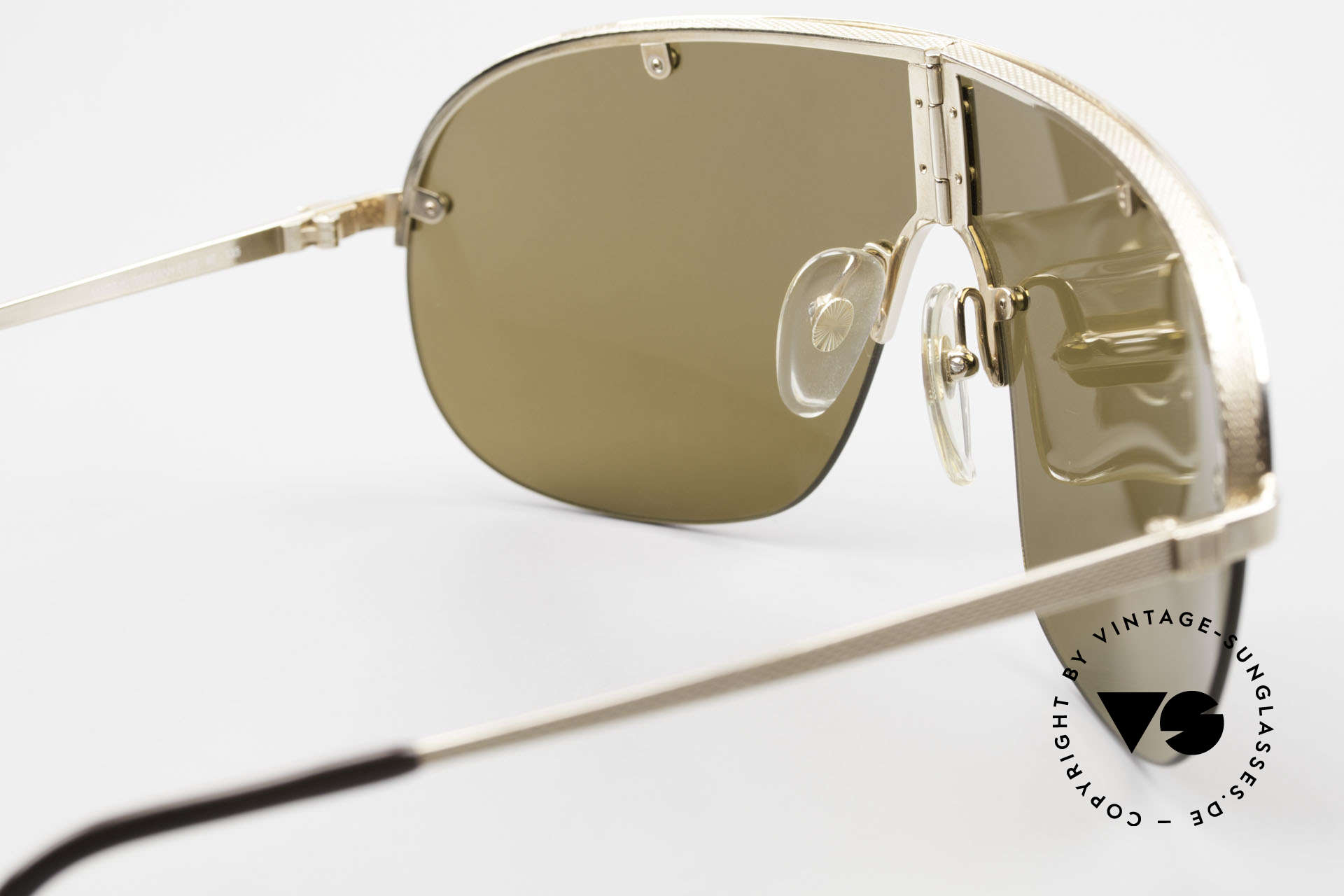 Dunhill 6102 90's Gentlemen's Sunglasses, NO retro shades, but an authentic 30 years old original, Made for Men