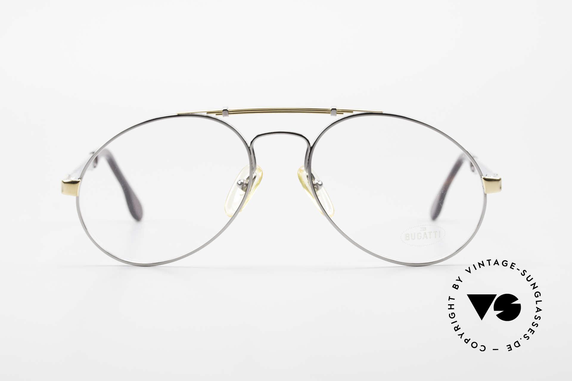 Bugatti 11946 Large 80's Luxury Eyeglasses, the Bugatti CLASSIC par excellence, a legend!, Made for Men