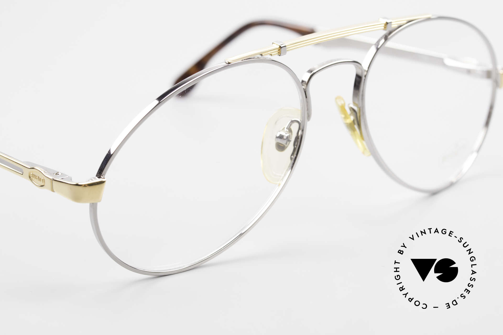 Bugatti 11946 Large 80's Luxury Eyeglasses, a very noble unworn model (with orig. packing), Made for Men
