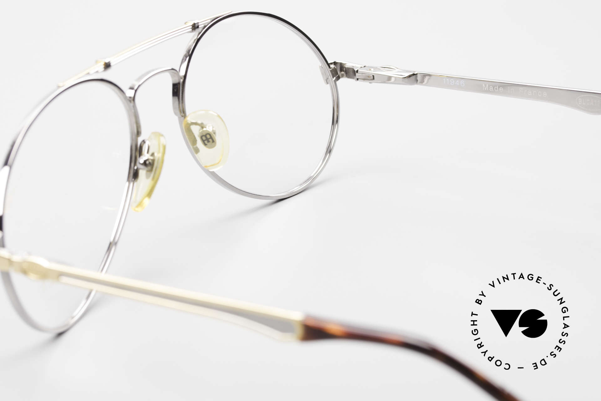 Bugatti 11946 Large 80's Luxury Eyeglasses, NO RETRO sunglasses; but a costly 80's Original!, Made for Men