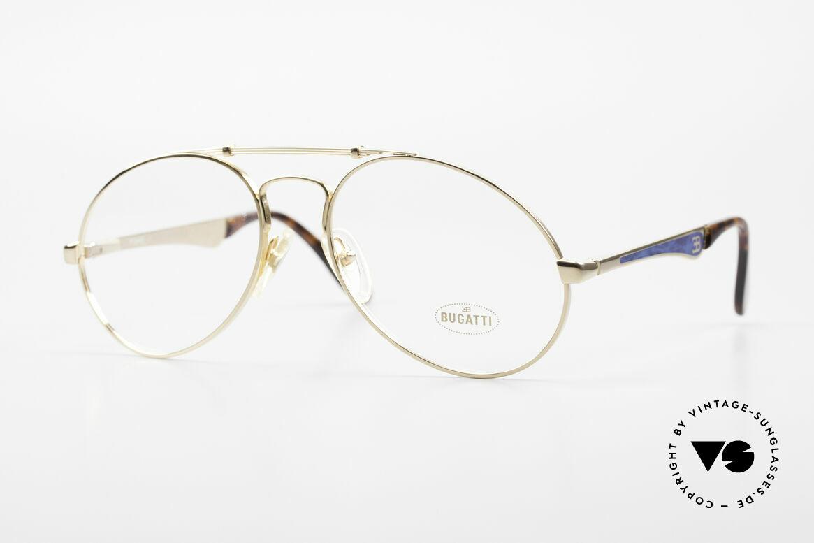 Bugatti 11945 Large Luxury 80's Eyeglasses, vintage 80's men's eyeglasses; large size 56/18, Made for Men