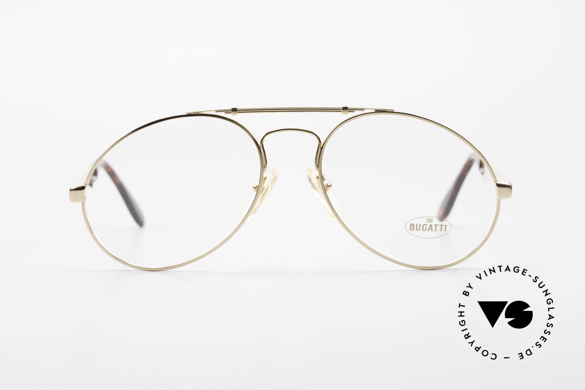 Bugatti 11945 Large Luxury 80's Eyeglasses, the Bugatti CLASSIC par excellence, a legend!, Made for Men