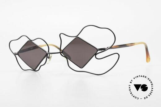 Claude Montana 657 Haute Couture Sunglasses 80s Details