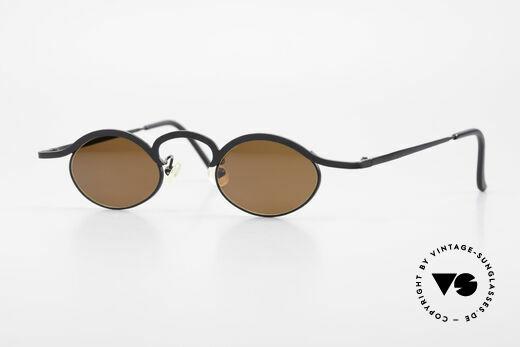 Theo Belgium Fecourf Oval Designer Sunglasses 90s Details