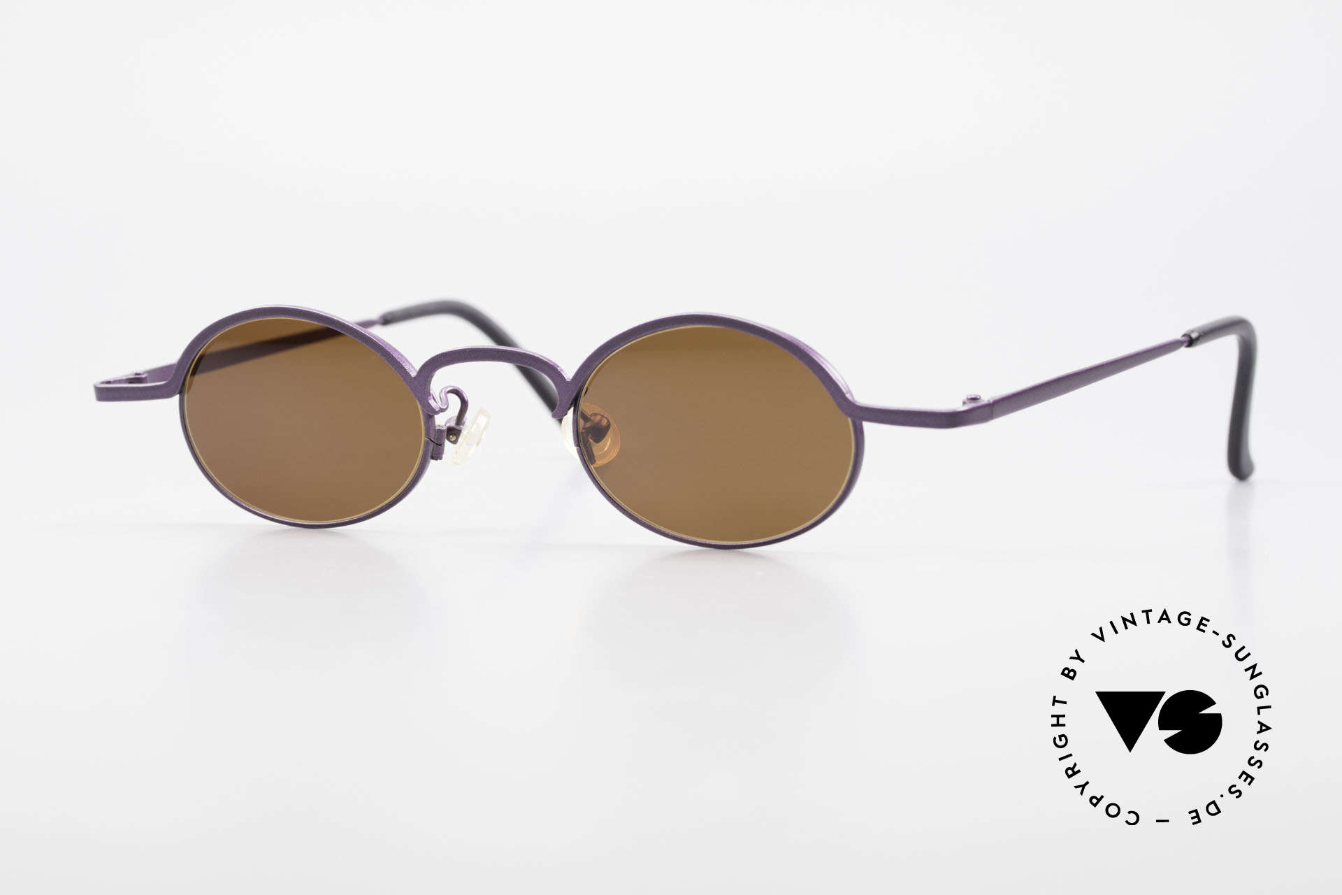 Theo Belgium San 90's Oval Designer Sunglasses, Theo Belgium: the most self-willed brand in the world, Made for Women