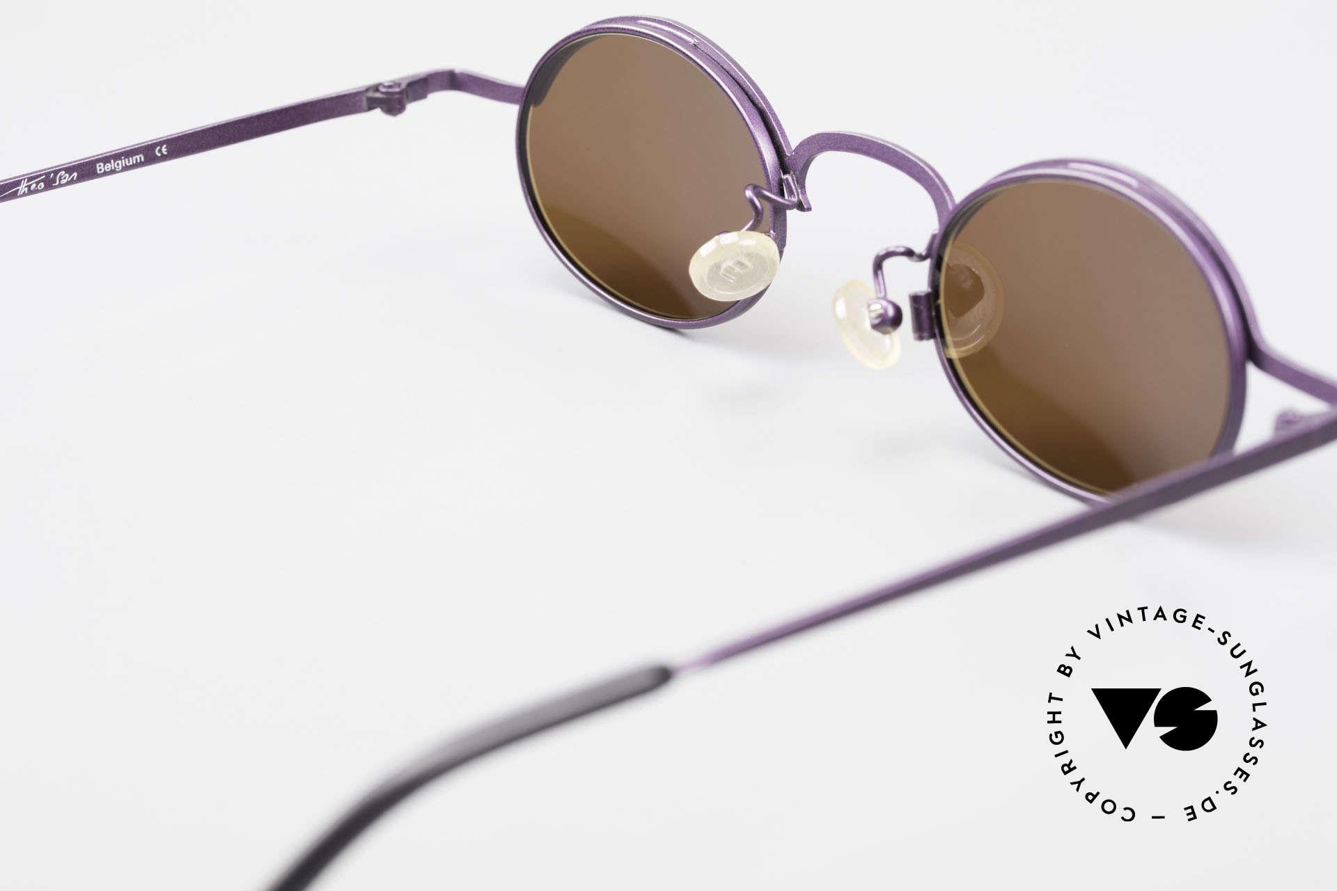 Theo Belgium San 90's Oval Designer Sunglasses, so to speak: vintage sunglasses with representativeness, Made for Women