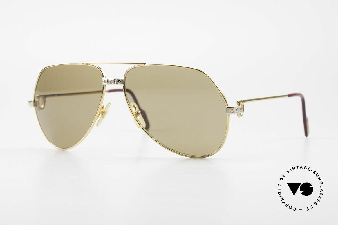 Cartier Vendome Santos - L Mystic Cartier Mineral Lenses, Vendome = the most famous eyewear design by CARTIER, Made for Men