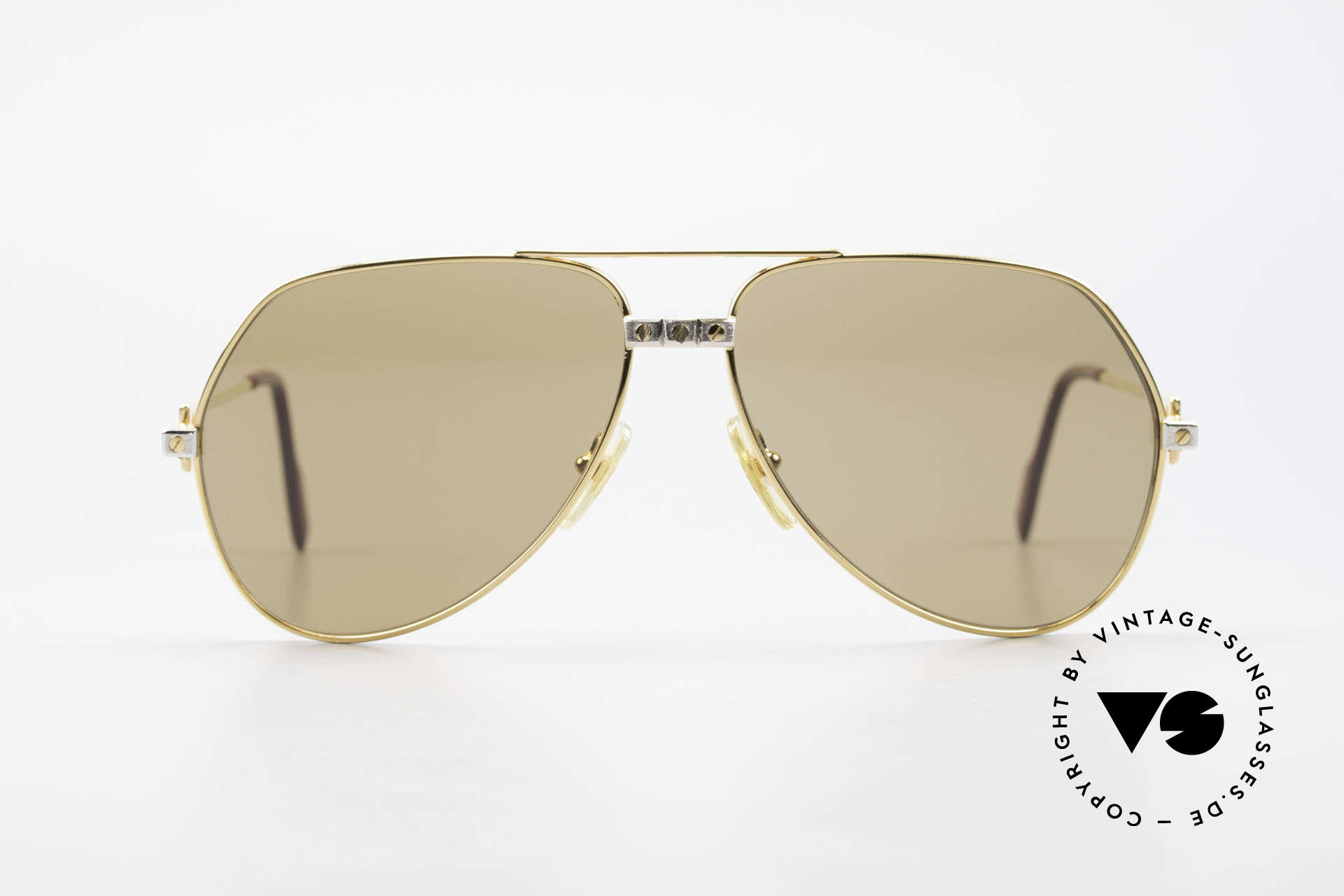 "Cartier Vendome Santos - L Mystic Cartier Mineral Lenses, mod. ""Vendome"" was launched in 1983 & made till 1997, Made for Men"