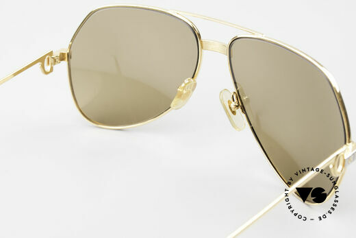 Cartier Vendome Santos - L Mystic Cartier Mineral Lenses, you must BREATH on the lenses to make the logo VISIBLE, Made for Men