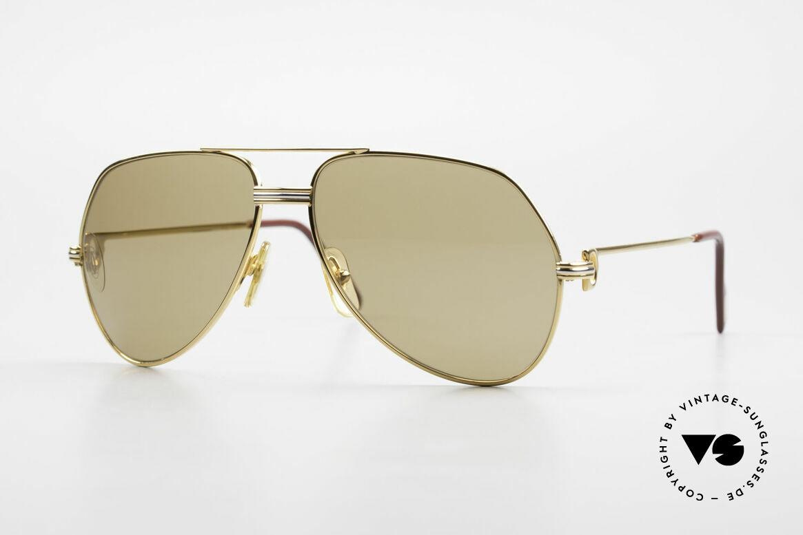 Cartier Vendome LC - M Mystic Cartier Mineral Lenses, Vendome = the most famous eyewear design by CARTIER, Made for Men