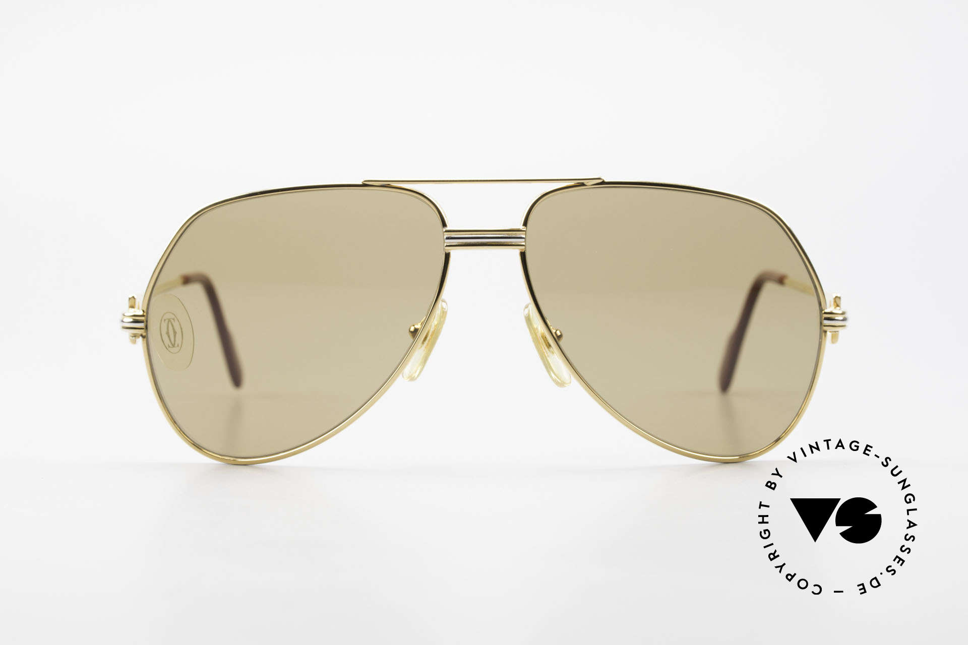 """Cartier Vendome LC - M Mystic Cartier Mineral Lenses, mod. """"Vendome"""" was launched in 1983 & made till 1997, Made for Men"""