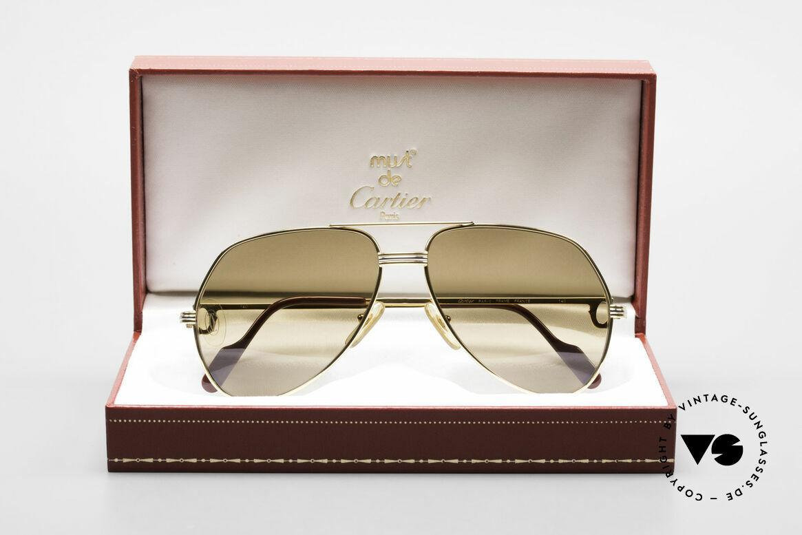 Cartier Vendome LC - M Mystic Cartier Mineral Lenses, NO RETRO shades, but a rare old CARTIER ORIGINAL!, Made for Men