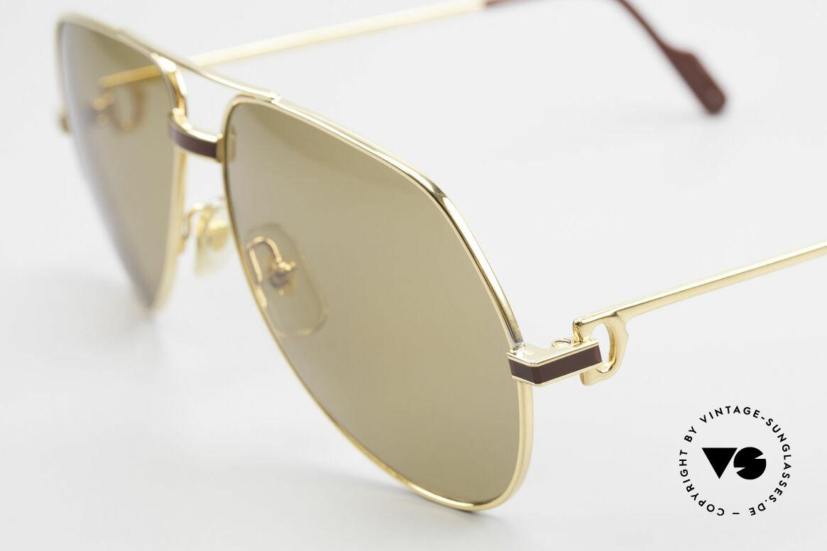 Cartier Vendome Laque - M Mystic Cartier Mineral Lenses, orig. Cartier sun lenses with the HIDDEN Cartier LOGO, Made for Men
