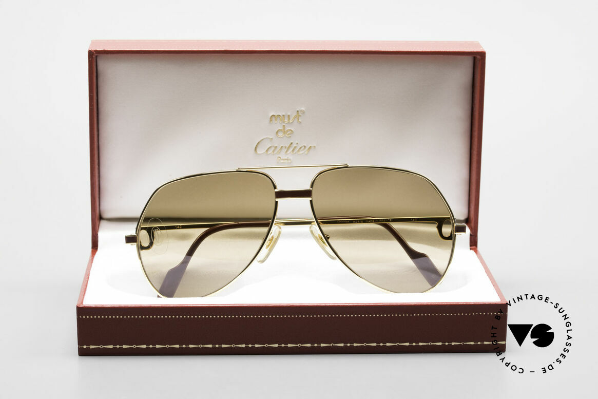 Cartier Vendome Laque - M Mystic Cartier Mineral Lenses, NO RETRO shades, but a rare old CARTIER ORIGINAL!, Made for Men