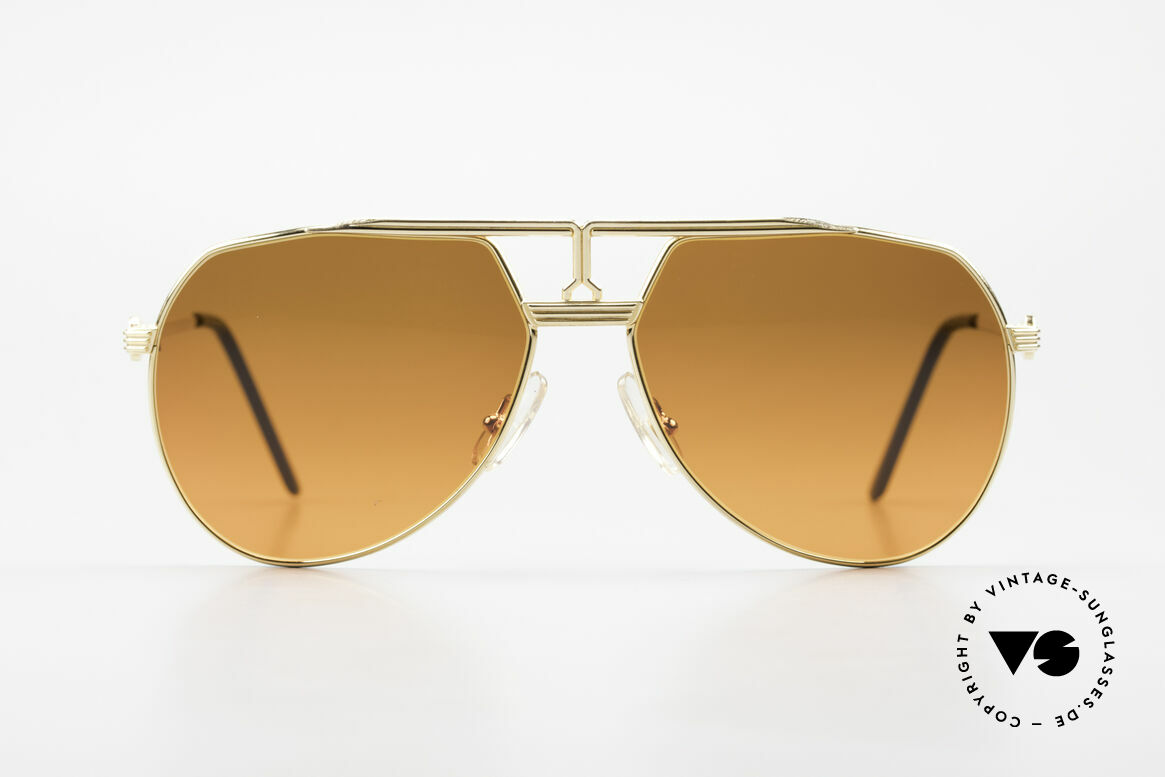 Maserati 6130 Luxury Aviator Sunglasses 80's, more quality, functionality and prestige isn't possible, Made for Men