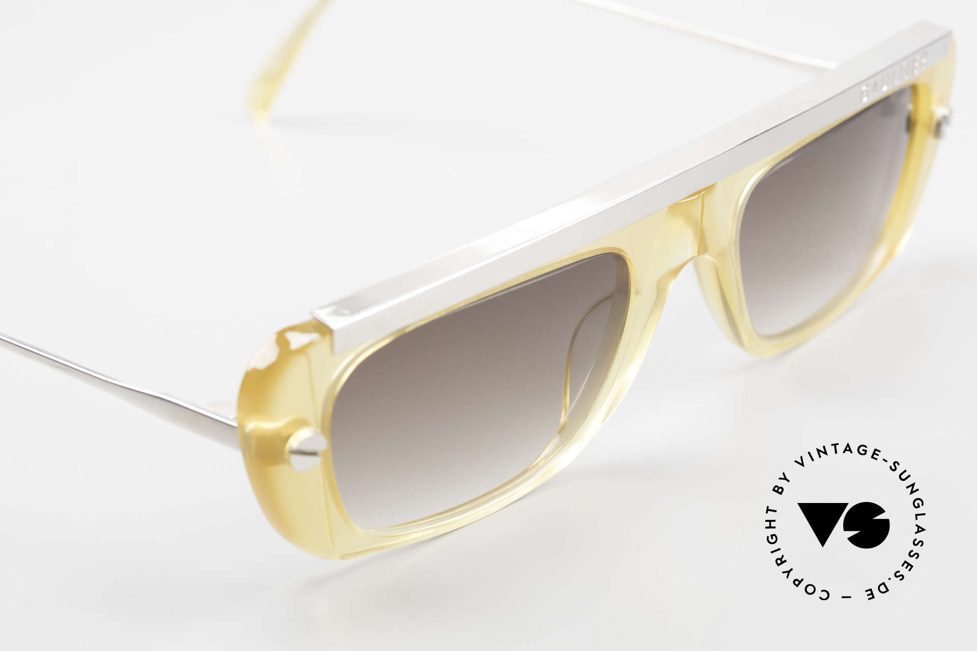 Jean Paul Gaultier 55-0771 Striking Vintage JPG Shades, NO RETRO shades, but a rare VINTAGE ORIGINAL, Made for Men and Women