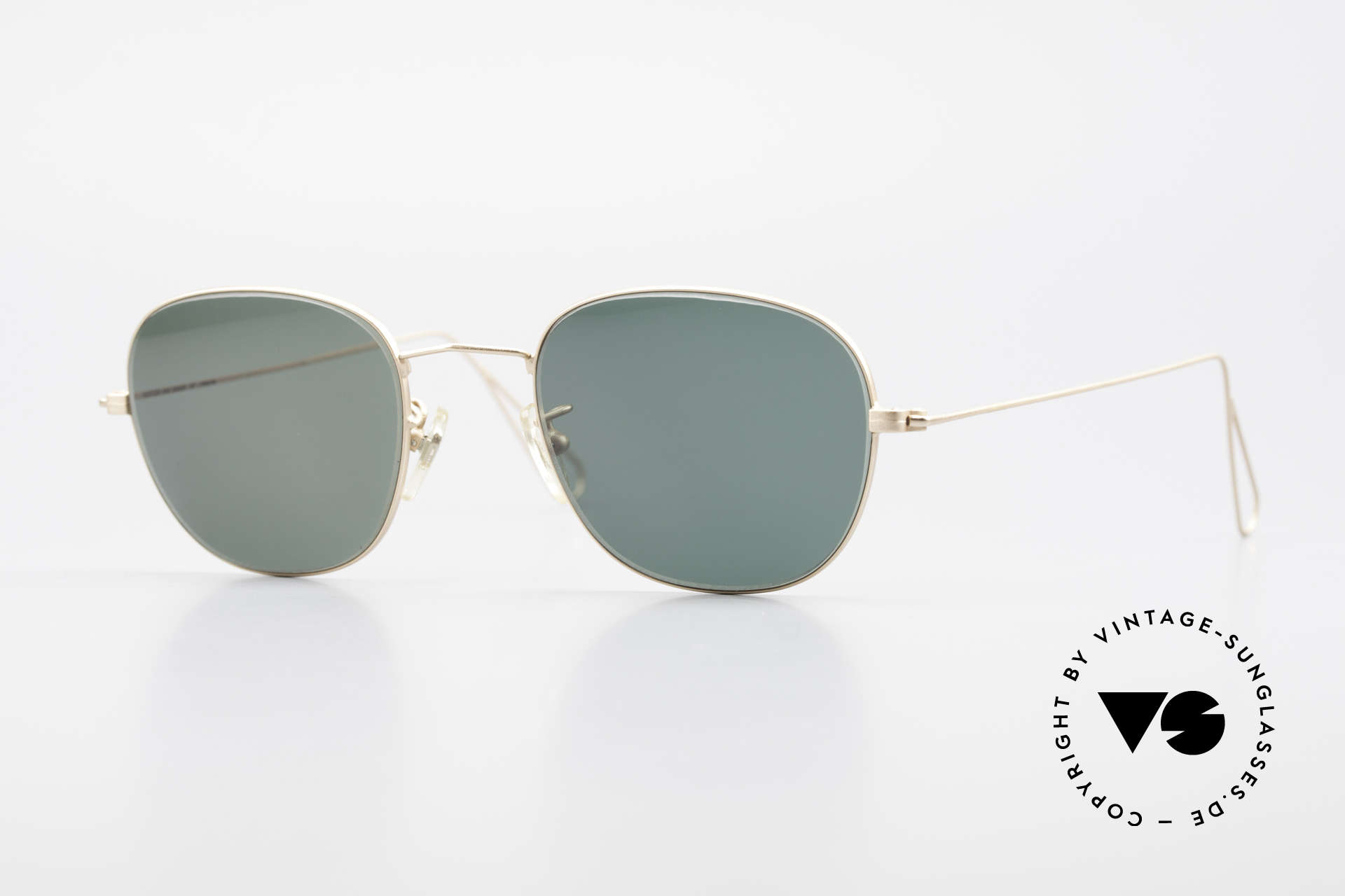 Cutler And Gross 0307 Classic 90s Designer Sunglasses, CUTLER and GROSS designer shades from the late 90's, Made for Men and Women
